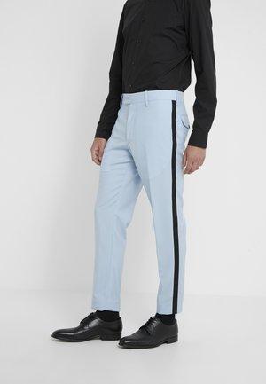GENT FORMAL TROUSER - Pantaloni eleganti - light blue