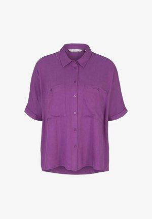 Button-down blouse - violett