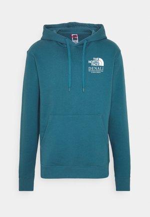 HIGHEST PEAK HOODY - Bluza z kapturem - mallard blue