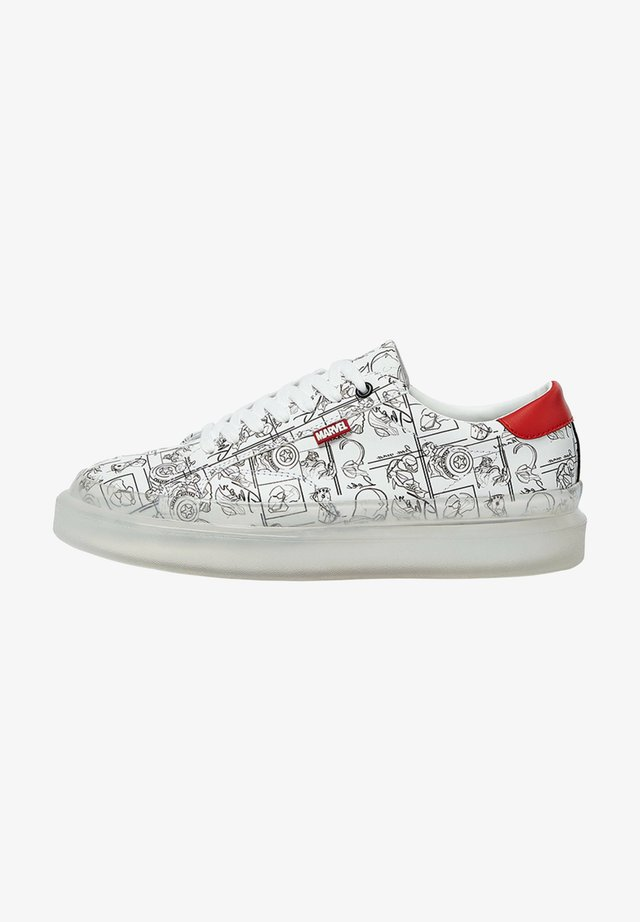 MARVEL - Sneakers laag - white