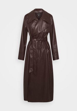 CLASSIC  - Gabardina - dark chocolate