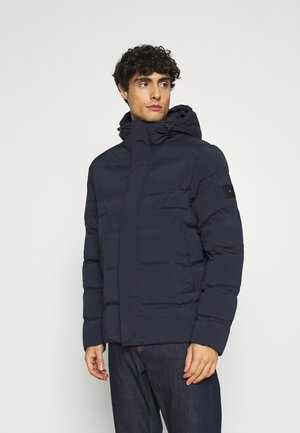 HOODED STRETCH - Talvitakki - blue