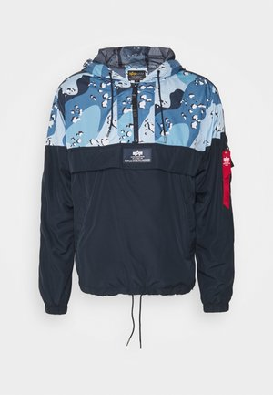 TAPE ANORAK - Windbreakers - navy