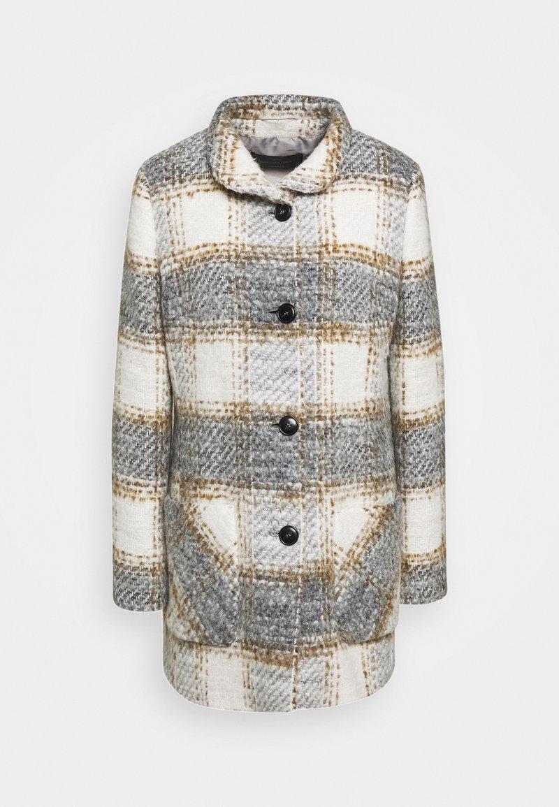 Barbara Lebek - Classic coat - creme/silver/hazelnut