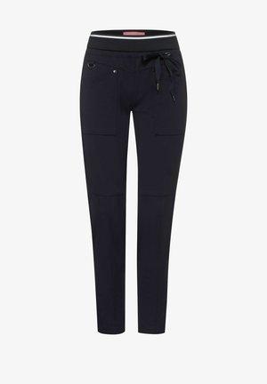 LOOSE FIT PUNTO DI ROMA - Trousers - dark blue