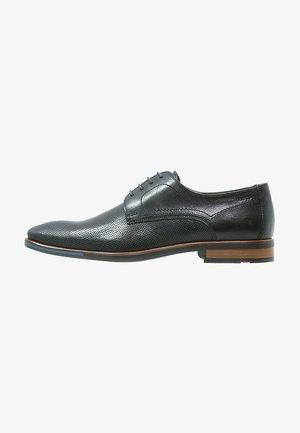 DRAYTON - Smart lace-ups - schwarz
