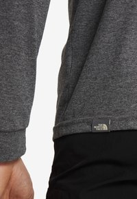 The North Face - SIMPLE DOME - Long sleeved top - medium grey heather