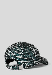 KARL LAGERFELD - TWEED SIGNATURE - Cap -  blue multi - 1