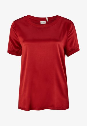 Print T-shirt - bright red