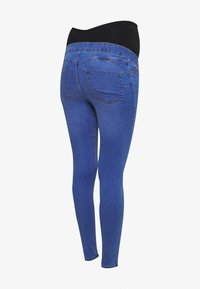 New Look Maternity - BLAIR BRIGHT JEGGING - Jeansy Slim Fit - bright blue - 1