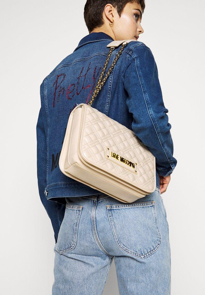 Love Moschino - BORSA - Handbag - ivory