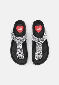 Love Moschino - T-bar sandals - fantasy color - 4
