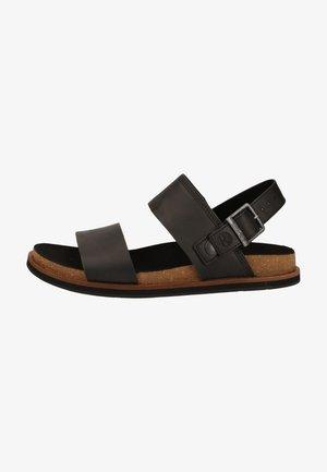 TIMBERLAND SANDALEN - Walking sandals - black 0151