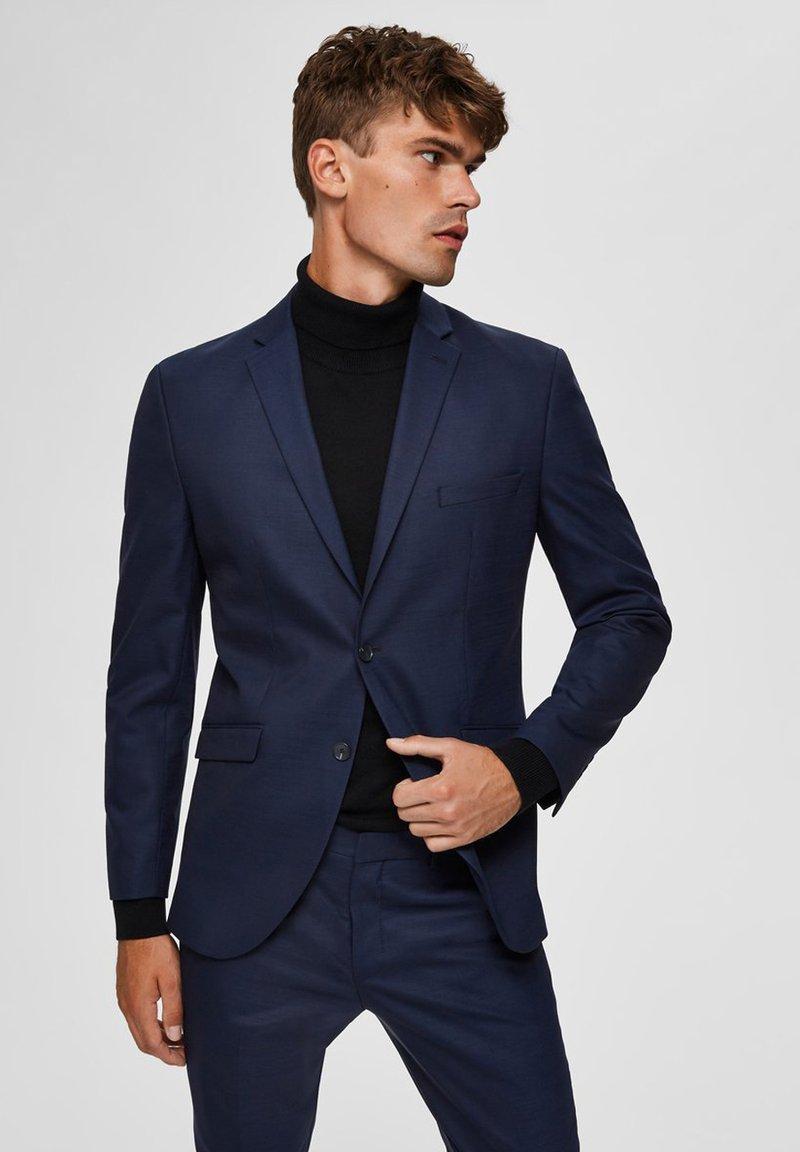 Selected Homme - BLAZER SLIM FIT - Blazere - dark blue