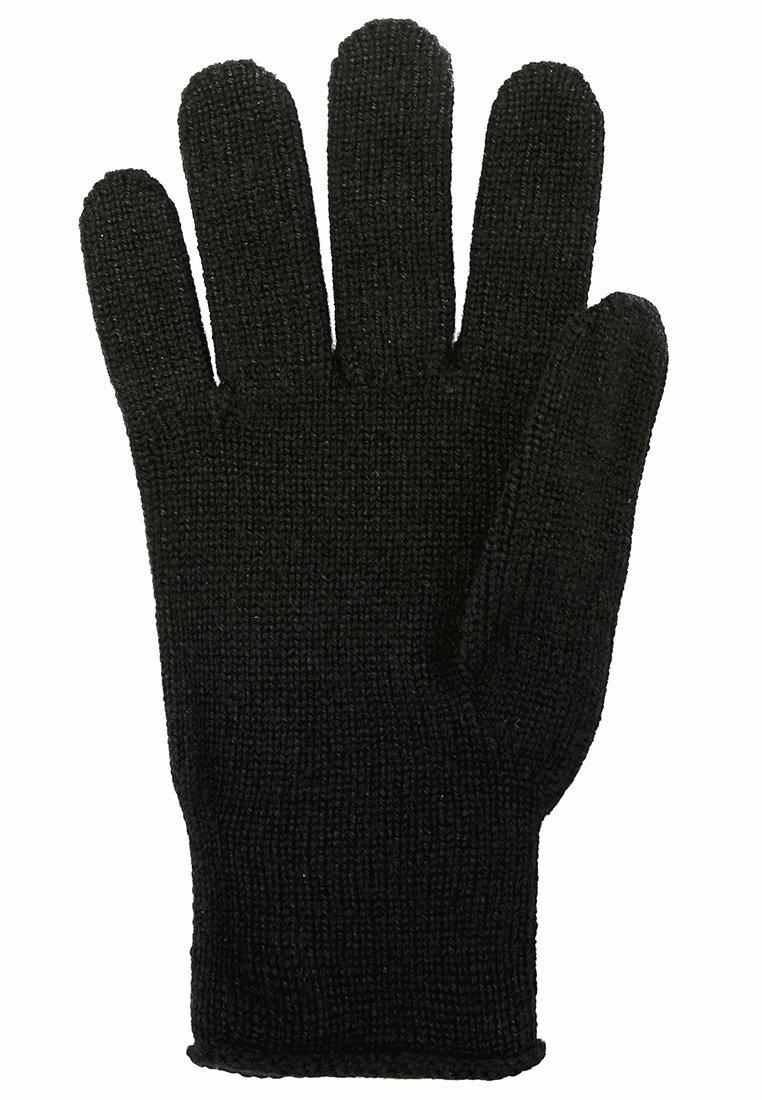 Johnstons of Elgin Hansker - black/svart Ze7IT24ZW449z70