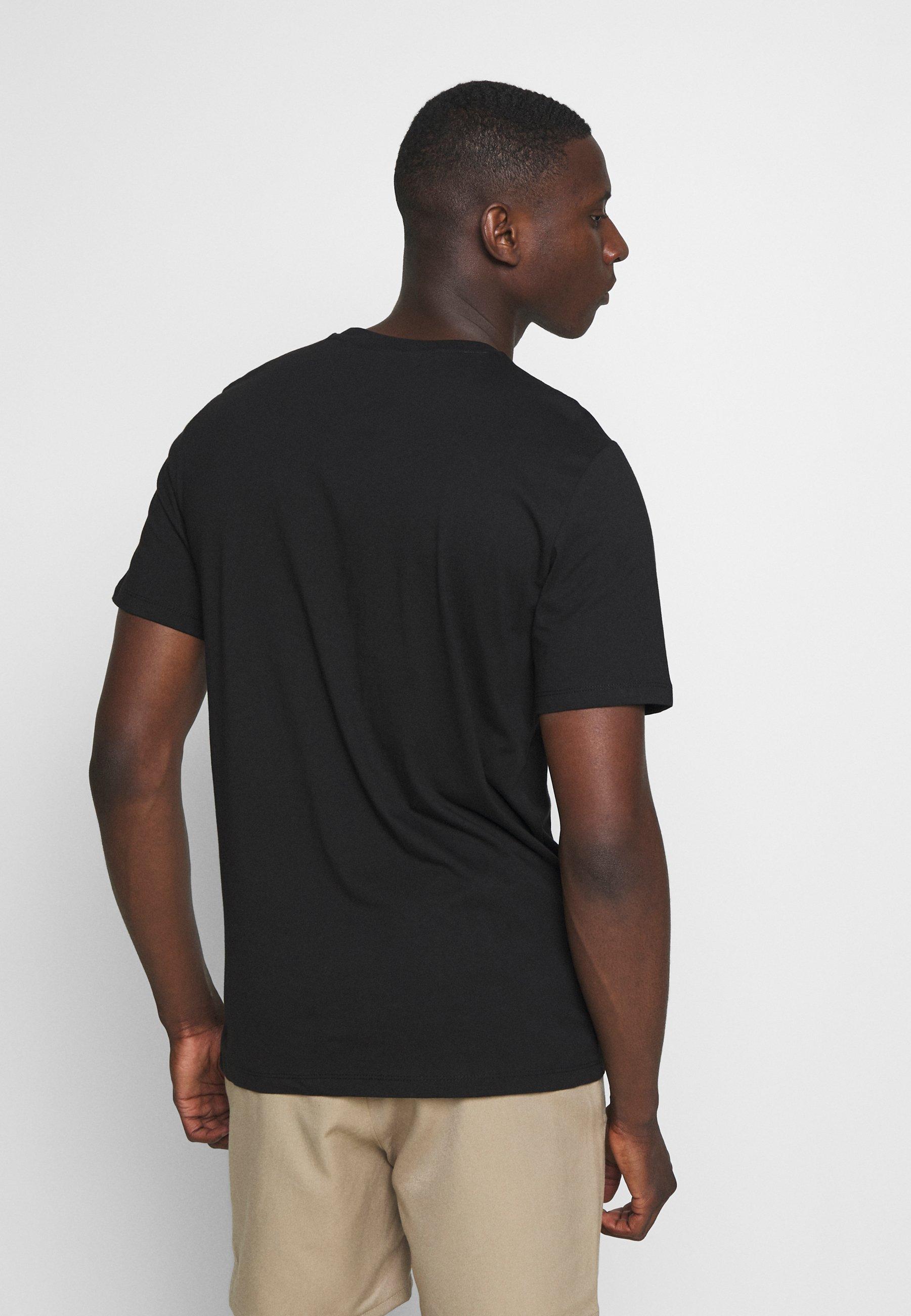 Only & Sons ONSBANKSY  - Print T-shirt - black iurwj