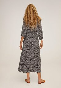 Mango - APPLE - Day dress - noir - 1