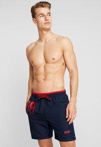 Superdry - WATER POLO SWIM - Shorts da mare - rich navy - 0