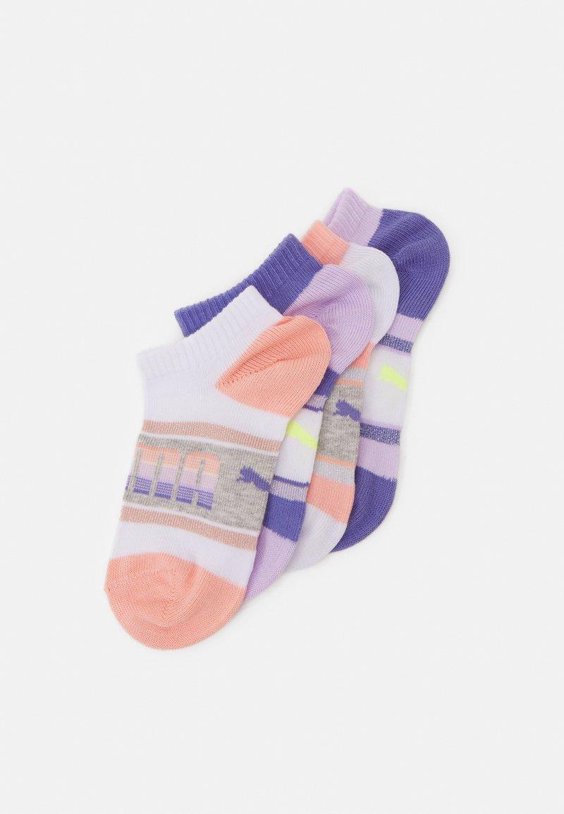 Puma - KIDS SEASONAL SNEAKER 4 PACK UNISEX - Socks - white/light pink