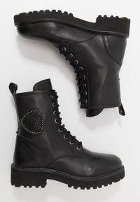 Blauer - IRVINE - Snørestøvletter - black - 3