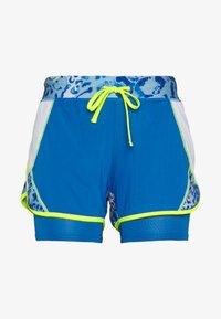 ONLY Play - ONPANGILIA LIFE  - Pantalón corto de deporte - imperial blue/white - 4