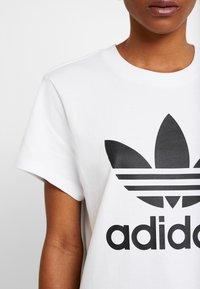 adidas Originals - T-shirt con stampa - white - 3