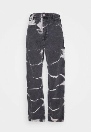 JUNO JEAN - Jeans straight leg - tie dye