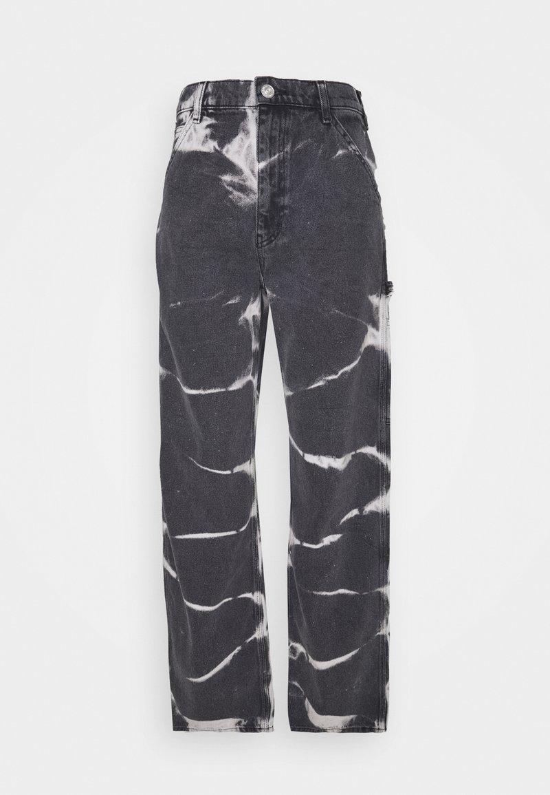 BDG Urban Outfitters - JUNO JEAN - Vaqueros rectos - tie dye