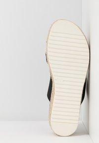 Madden Girl - CASE - Sandaler m/ tåsplit - black - 6