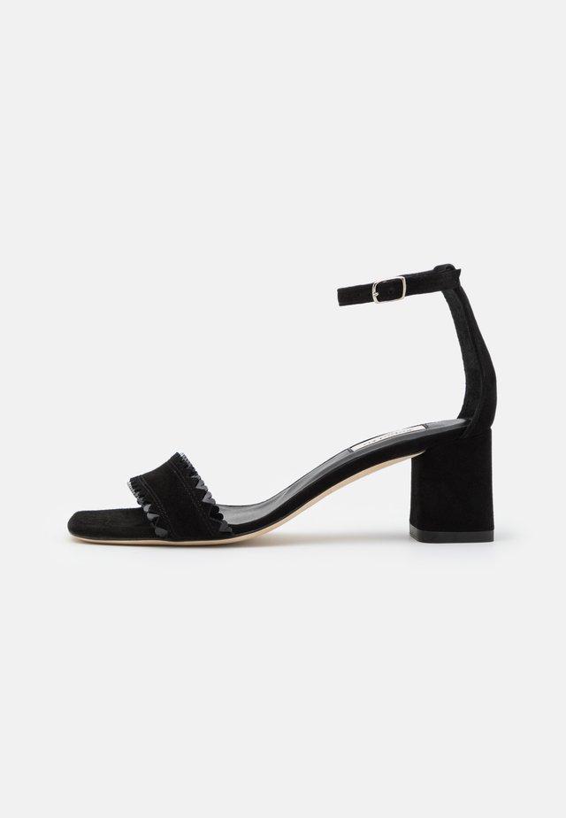 PANI - Sandals - noir