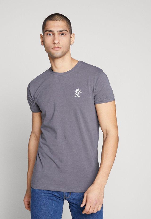 T-shirt med print - dark grey