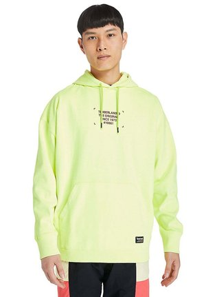 Hoodie - safety yellow