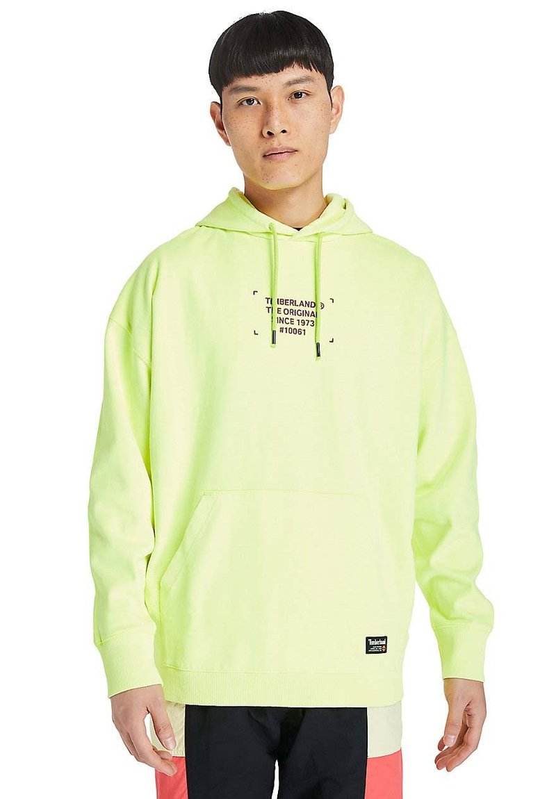 Timberland - Hoodie - safety yellow