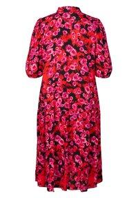 Zizzi - Maxi dress - red flower aop - 4
