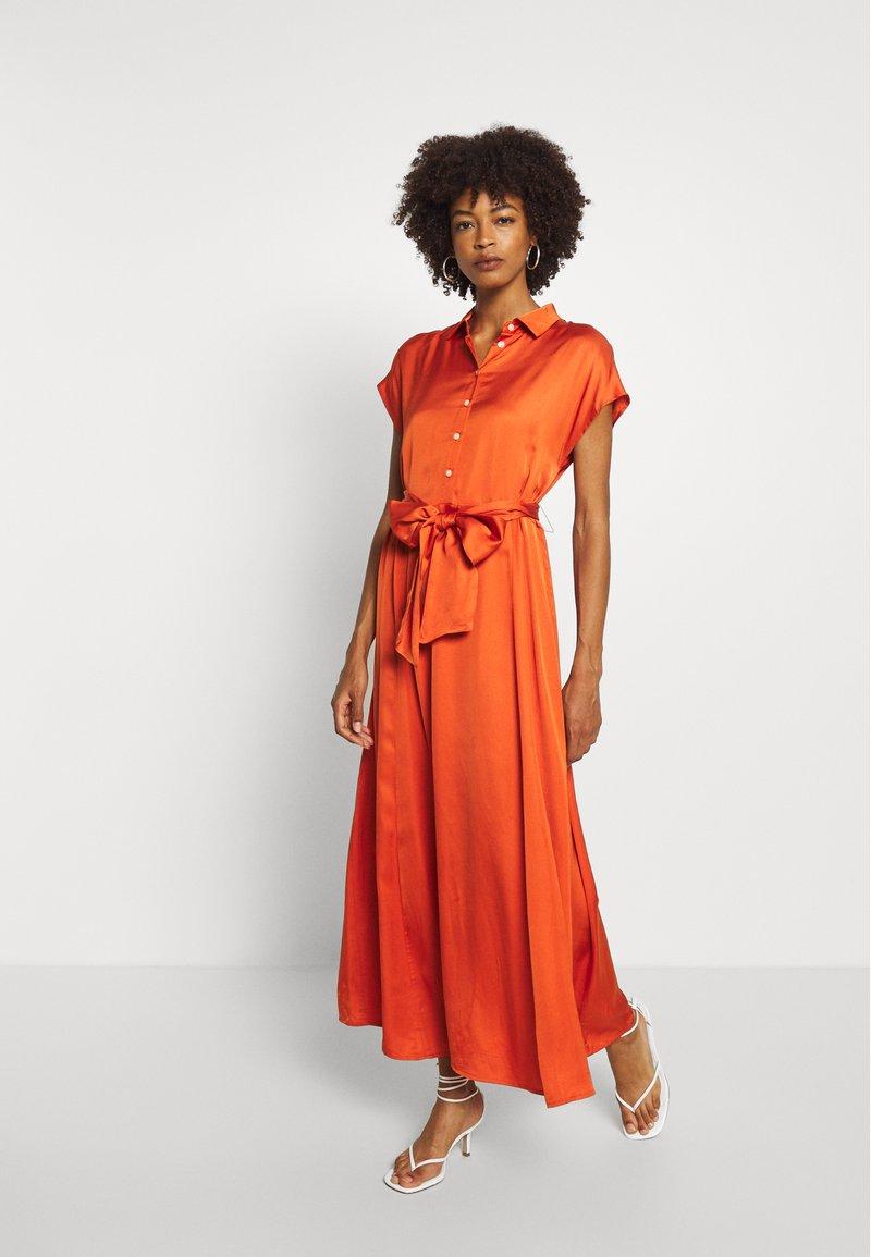 Part Two - DITA - Maxi dress - orange sunset