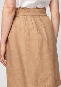 s.Oliver - A-line skirt - desert sand melange - 5