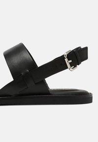 Clarks - KARSEA STRAP - Sandals - black - 7