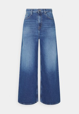 ULTRA WIDE LEG ANKLE - Relaxed fit jeans - ames