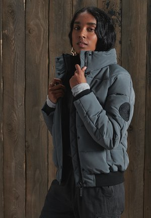 Winter jacket - slate grey