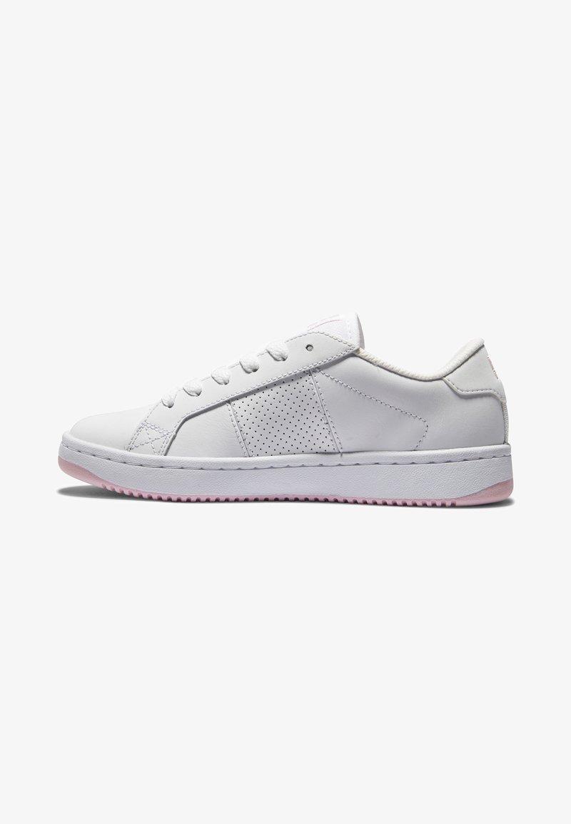 DC Shoes - STRIKER - Baskets basses - white pink