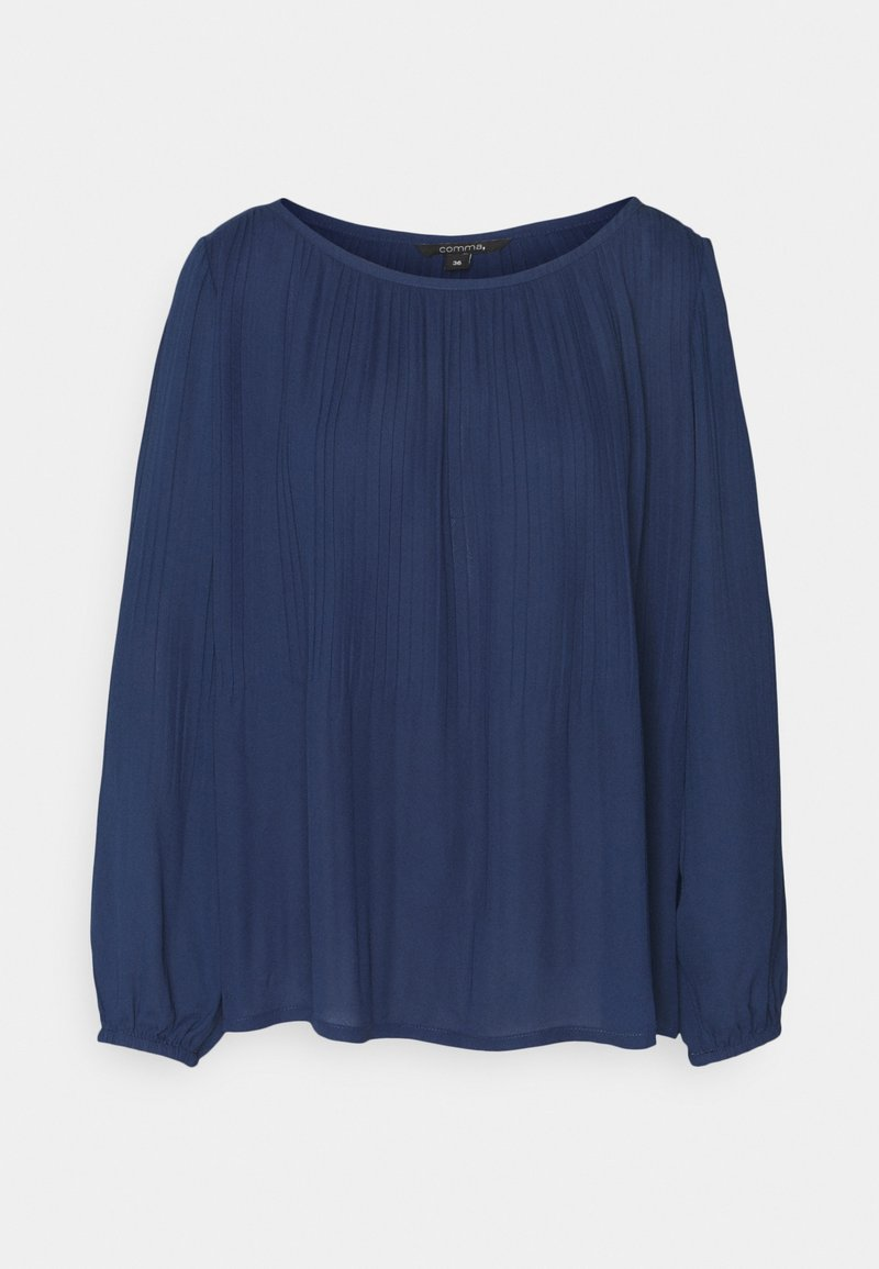 comma - Long sleeved top - dark blue