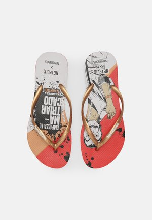 SLIM WOMEN - Pool shoes - red