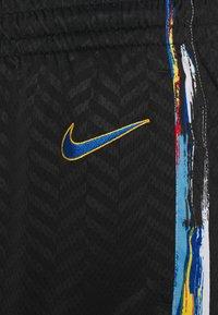 Nike Performance - NBA BROOKLYN NETS CITY EDITION SWINGMAN SHORT - Sports shorts - black/royal blue - 2