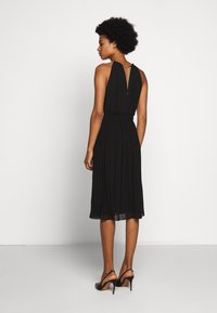 MICHAEL Michael Kors - CHAIN NECK MIDI DRESS - Cocktail dress / Party dress - black - 2