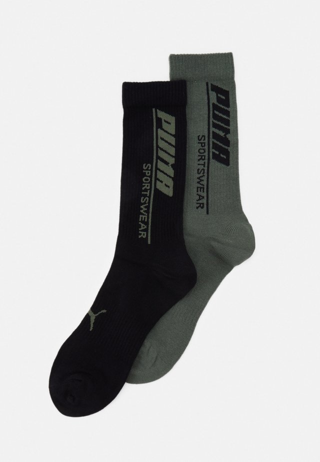 MENSEASONAL SPORTSWEAR SOCK 2 PACK - Sports socks - army green