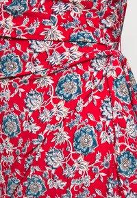 Lauren Ralph Lauren - PRINTED MATTE DRESS - Žerzejové šaty - red/blue/multi - 4