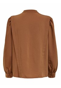 ONLY - Button-down blouse - tobacco brown - 6