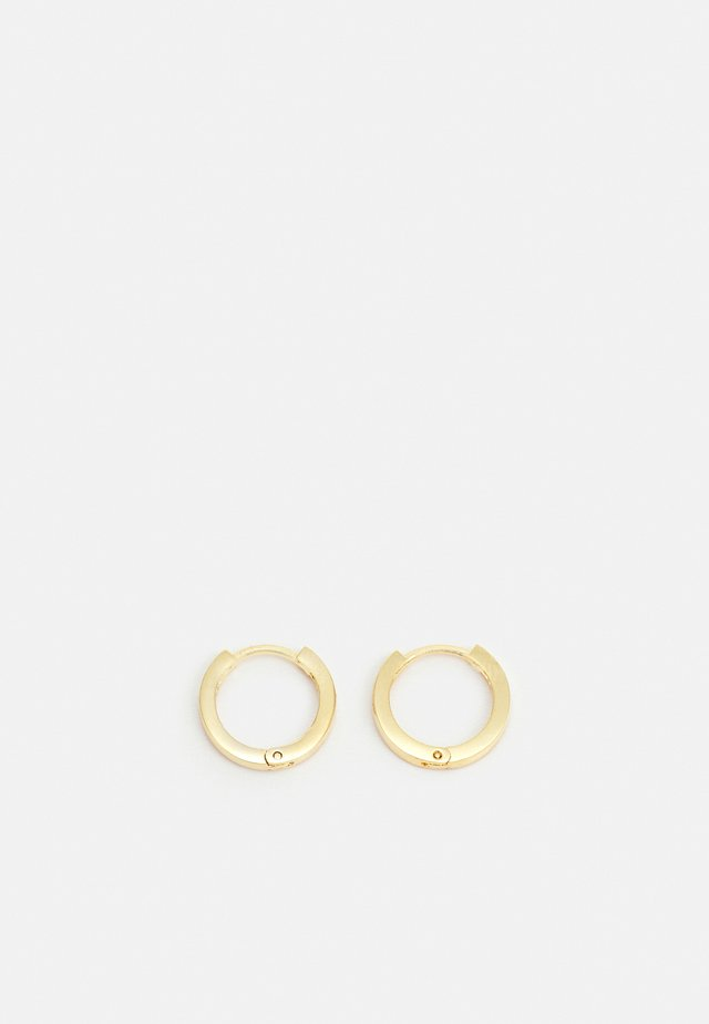 CLEAN HUGGIE HOOP - Pendientes - gold-coloured