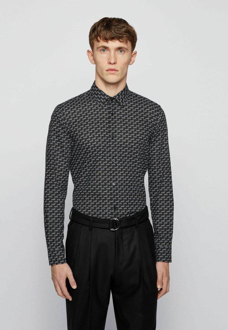 BOSS - RONNI - Shirt - black