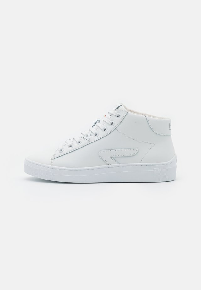HOOK-Z MID - High-top trainers - white